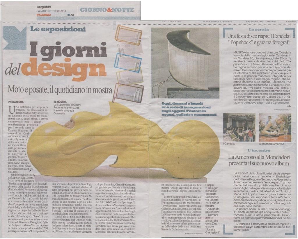 Repubblica - I design (2013)