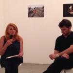 Carla Garofalo e Lorenzo Palizzolo durante la presentazione