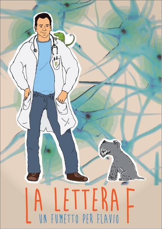 Un fumetto per Flavio - Locandina di Roberto D'Angelo - Associazione Flavio Beninati