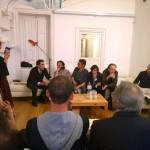 """Presentazione di """"Vita sconnessa di Enzo Cucchi"""" - Palermo venerdì 13 maggio 2016"""